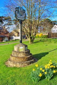 Great Houghtoin Village Sign